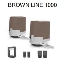 комплект автоматики для ворот BROWN LINE 1000